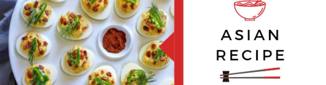 Asian Deviled eggs!
