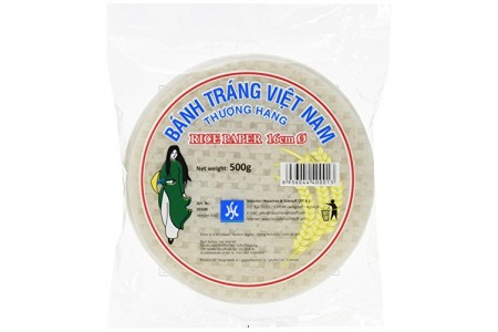 RICE PAPER (WRAPPERS) ROUND 16cm 500g HS