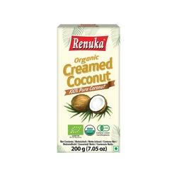 ORGANIC COCONUT CREAM 200g RENUKA