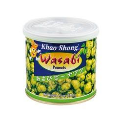 CRISPY WASABI COATED PEANUTS 140g KHAO SHONG