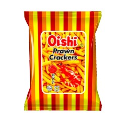 PRAWN CRACKERS SPICY 60g OISHI