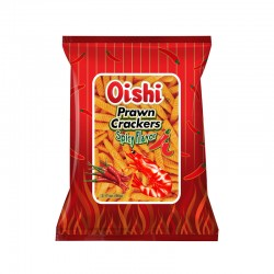 PRAWN CRACKERS SPICY 90g OISHI