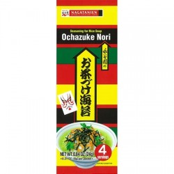 SEASONING MIX FOR RICE SOUP WITH NORI OCHAZUKE NORI 4x6g NAGATANIEN