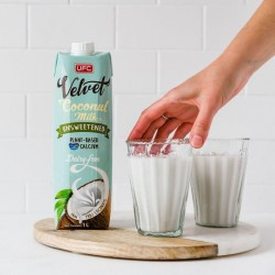 COCONUT MILK DRINK UNSWEETENED 1lt UFC