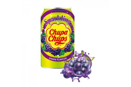 STRAWBERRY CREAM DRINK 345ml CHUPA CHUPS