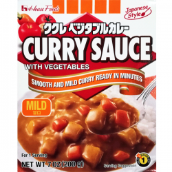 KUKURE VEGETABLE CURRY (MILD) 200g HOUSE