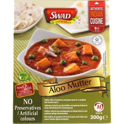 READY TO EAT MEAL ALOO MUTTER  300g SWAD