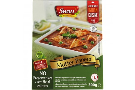 READY TO EAT MEAL MUTTER PANEER 300g SWAD