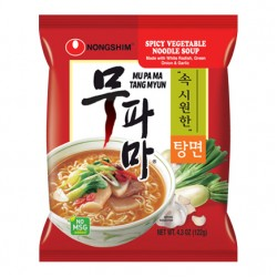 SPICY VEGETABLE NOODLE SOUP 122g NONG SHIM