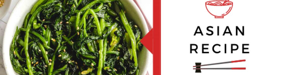 Korean spinach!