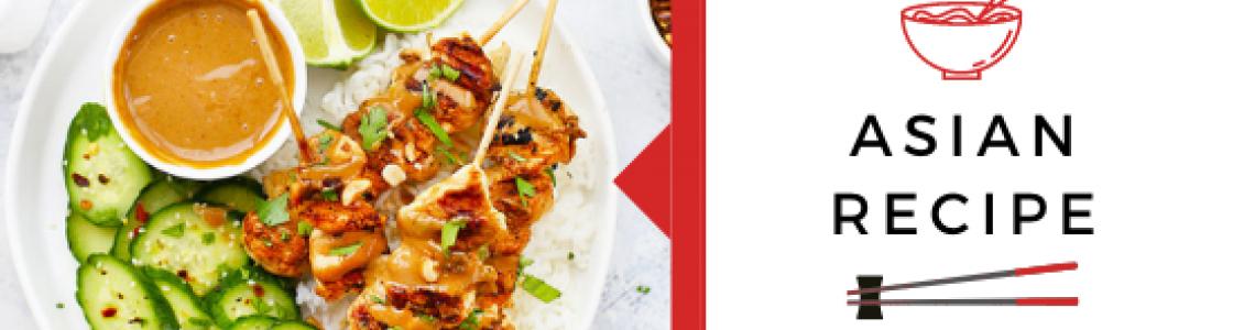 Chicken Satay Skewers!