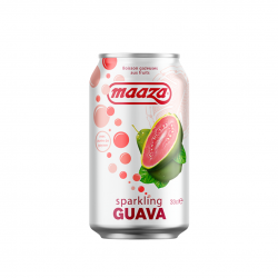 CARBONATED FRUIT DRINK GUAVA 330ml MAAZA