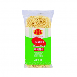QUICK COOKING NOODLES (BROAD) 250g SPRING HAPPINESS