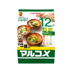 INSTANT MISO SOUP WITH WAKAME  (FAMILY PACK) 258g  MARUKOME