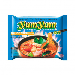 INSTANT NOODLES SPICY SEAFOOD 70g  YUM YUM