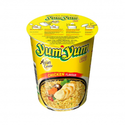 INSTANT CUP NOODLE SOUP CHICKEN 70g YUM YUM