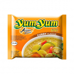 INSTANT NOODLES CURRY 60g YUM YUM