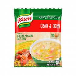 CRAB AND CORN SOUP MIX 60g KNORR