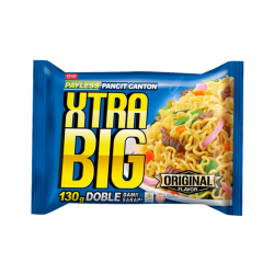 INSTANT NOODLES PANCIT CANTON EXTRA BIG 130g PAYLESS