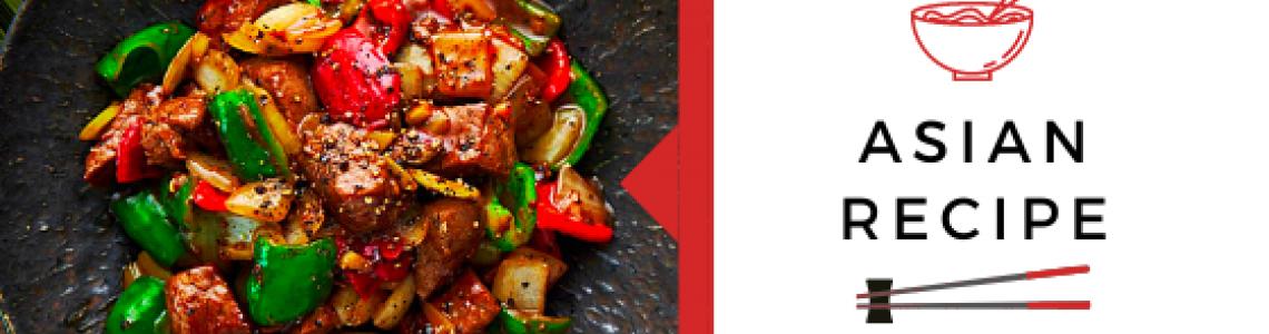 Μοσχαράκι σε λωρίδες με σάλτσα πιπεριού!