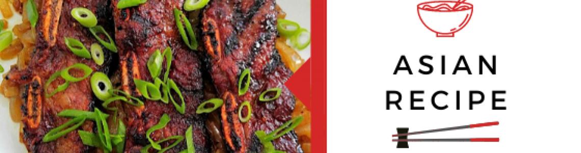 Μοσχαρίσια παϊδάκια με κορεάτικη Kalbi bbq sauce!