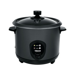 RICE COOKER BLACK INOX 1.5lt TRISTAR
