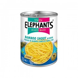 BAMBOO SHOOTS (STRIPS) 540g TWIN ELEPHANT
