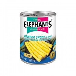 BAMBOO SHOOTS (TIPS) 540g TWIN ELEPHANT