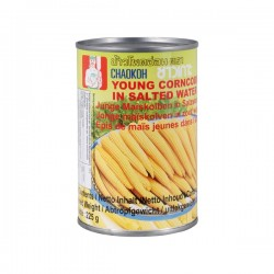 YOUNG BABY CORN 425g CHAO KOH