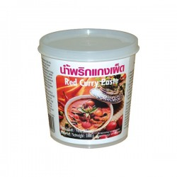 RED CURRY PASTE 400g LOBO