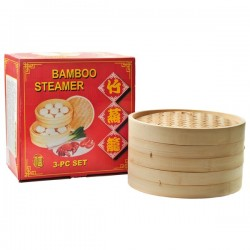 BAMBOO STEAMER 30CM NONFOOD