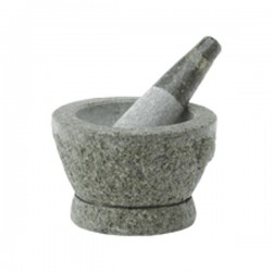 MORTAR WITH PESTLE  11.8cm NONFOOD