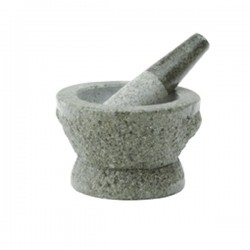 MORTAR WITH PESTLE  12.3 CM NONFOOD