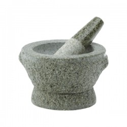 MORTAR WITH PESTLE 13.8 CM NONFOOD