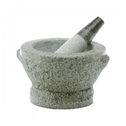 MORTAR WITH PESTLE  14.2 CM  NONFOOD