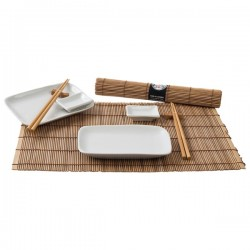 SUSHI DINNER SET (BROWN) NONFOOD