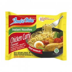 INSTANT NOODLE SOUP CHICKEN CURRY 80g INDOMIE