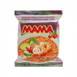 INSTANT NOODLES TOM YUM SHRIMP 60g MAMA