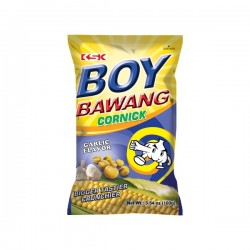 CORN SNACK & GARLIC 100g BOY BAWANG
