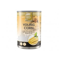 YOUNG BABY CORN 425g GOLDEN TURTLE CHEF