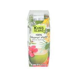 COCONUT WATER 250ml KING ISLAND