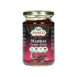 MADRAS CURRY PASTE 270g PASCO