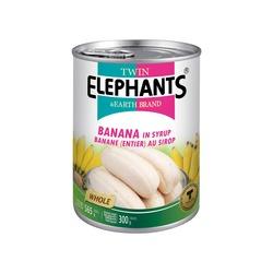 ΜΠΑΝΑΝΑ ΜΙΚΡΗ ΣΕ ΣΙΡΟΠΙ 565g TWIN ELEPHANTS