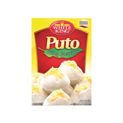 PUTO (STEAMED WHITE CAKE MIX) 400g WHITE KING