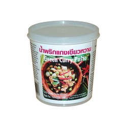 GREEN CURRY PASTE 400g LOBO