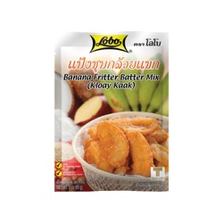 BATTER MIX FOR BANANA FRITTER 80g LOBO