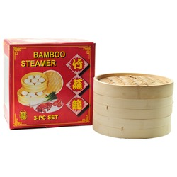 BAMBOO STEAMER 25cm NON FOOD (CHINA)
