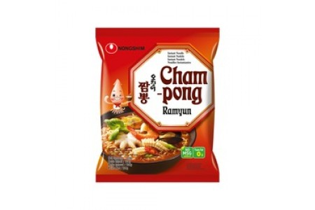 INSTANT RAMYUN CHAMPONG NOODLES 124g NONG SHIM