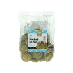 RICE CRACKERS WITH WASABI 125g GOLDN TURTLE