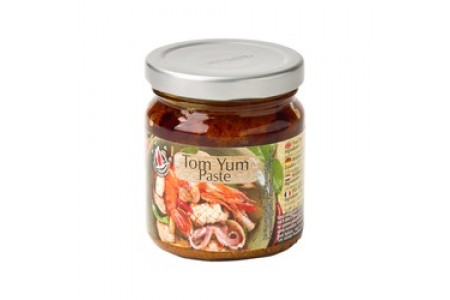 SOUP SOUR PASTE TOM YUM 225g FLYING GOOSE